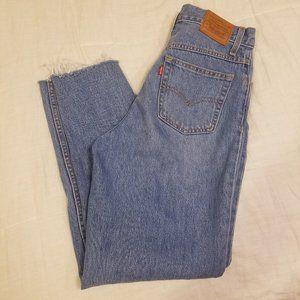 Levi's Mom Light Wash Jeans